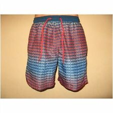 NEW MENS BOY CALVIN KLEIN MULTI PRINT LOGO SWIM BEACH BERMUDA SHORTS LARGE 36/39