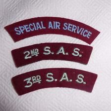 GREAT BRITAIN, POST WW2 SPECIAL AIR SERVICE ARC SET OF 3