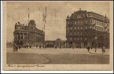 Wien Vienna Postcard Österreich Postkarte 1929 gelaufen Aspernplatz mit Urania