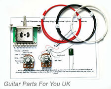 250k Telecaster wiring kit MINI pots 0.022uf TL wiring kit upgrade NEW