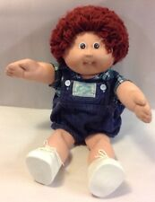 Vintage 1985 Cabbage Patch Kids Boy Doll Tooth Red Head 1985 CPK Outfit OAA TOY