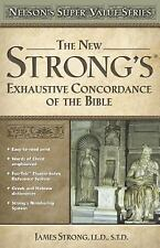 Nelson's Super Value Series : New Strong's Exhautive Concordance by James...