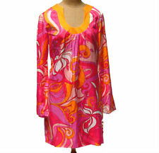 Banana Republic Womens Dress Trina Turk Collection Psychedelic Pink Orange 6