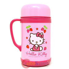 Sanrio Hello Kitty Stainless Steel Soup Container Pink Tumbler 600ml 20oz