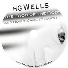 The Food of the Gods and How it Came to Earth, H. G. Wells Audiobook on 1 MP3 CD
