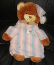 Vintage Teddy Beddy Bear Bedtime Pal - Sleepy Bear - PJs / Hot Water Bottle Case