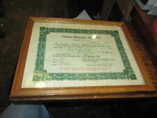 August 15, 1937 Harley American Motorcycle Association AMA Field Meet Sanction