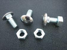 """Bumper Bolts W/Hex Nuts 7/16""""-14 x 1""""  SS Capped Round Head (8) 8557"""