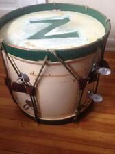 "Vintage Slingerland Drum 15"" x 14"" Leather & Rope Rare Find"