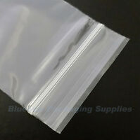 """100 Grip Seal Clear Resealable Poly Bags 3.5"""" x 4.5"""""""