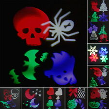 10 Pattern Led Laser Outdoor Holiday Project Waterproof Projector Lights UK Plug