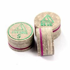 CUESOUL 3 Pieces 14mm 10 Layer Pigskin Glue Billiard Pool Cue Tips