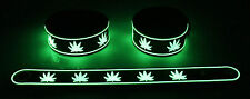 RASTA BOB MALEY NEW! Glow in the Dark Rubber Bracelet Wristband Jamica gg60