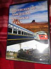 DVD RAILWAY OF AMERICA'S NATIONAL PARK Great Train Ride Grand Canyon Mt McKinley