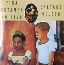 Caetano Veloso Divina Estampa Ao Vivo Lamento Boricano Bolero CD VERVE 1996 MINT