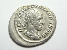 Roman Silver Antoninianus Philip 1st. 'The Arab' Rev: Securitas. (C536)