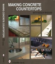 Making Concrete Countertops - detailed illustrated step-by-step instructions
