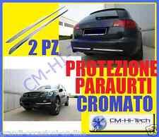 PROFILO CROMO! PER SALVA PARAURTI DECORO PORTIERE INTERNE GRIGLIA RADIATORE AUTO