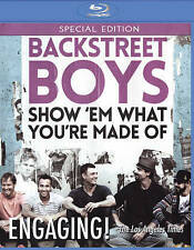Backstreet Boys: Show `em What You`re Made Of (bd) Blu-Ray NEW
