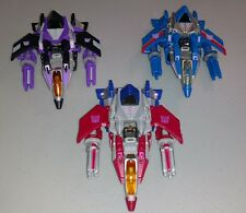 Transformers WFC Seekers Starscream Skywarp Thundercracker Great Shape Complete