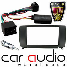 Rover 75 Double Din Car Stereo Fascia Panel & Steering Wheel Interface CT23RO01