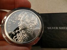 Freedom Girl Proof - 2013 2oz SBSS Gem .999 Beauty/ Silver Bullet Shield Shield