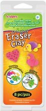 Sculpey Kit 1oz - 6/Pkg - Amazing Eraser Clay 715891146118 - NEW - #K36130