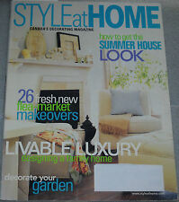 Style at Home Magazine June 2002 How To Get The Summer House Look