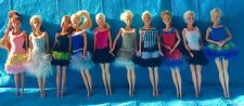 noel fille 10 robes de poupée barbie princesse chic unique fait main Nice France