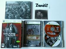 Xbox 360 Gears of War 2 LIMITED EDITION STEELBOOK Complet PAL Très bon état