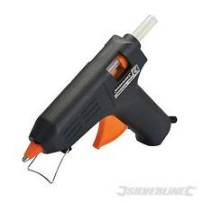 Silverline Electric Hot Melt Glue Gun 240V 11.2mm Sticks Hobby Craft 583333