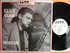 ZOOT SIMS - BROTHER IN SWING  LP   Jazz Legacy 27  JL.77