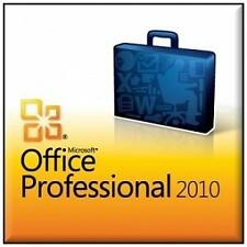 Microsoft Office Professional Plus 2010 - 3 CD w/product key