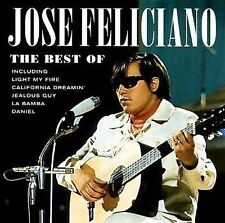 FREE US SH (int'l sh=$0-$3) NEW CD Jose Feliciano: The Best Of Jose Feliciano
