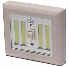 Wireless Night Light Jumbo LED Switch Cordless Magnetic Battery Operated P-JMBSW