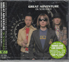 Great Adventure OK Screamer NEW & SEALED Japanese CD with obi FASTPOST