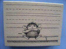 HOUSE MOUSE RUBBER STAMPS CHALK IT UP STAMP