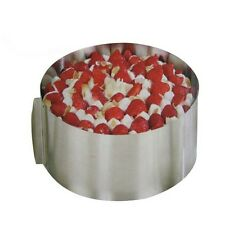 6''-12'' Mousse Ring Adjustable Stainless Steel Cake Circular Mold Tool Quality