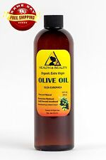 OLIVE OIL EXTRA VIRGIN ORGANIC CARRIER PREMIUM COLD PRESSED PURE 12 OZ