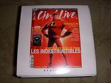 CD PROMO BANDES ANNONCES FILM CINE LIVE 82 09.2004 LES INDESTRUCTIBLES CATWOMAN