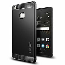 Huawei P9 Lite, Spigen Case Rugged Armor Black L05CS20299