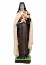 Saint Therese of Lisieux resin statue cm. 30