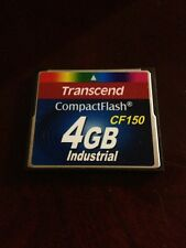 Used Transcend Compact Flash 4GB CF150 CF Memory Card