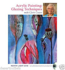 NEW! Acrylic Painting Glazing Techniques with Chris Cozen [DVD]