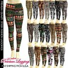 SEXY WOMEN SKINNY LEGGINS GRAPHIC PRINTED STRETCHY JEGGINS PENCIL TIGHTS PANTS