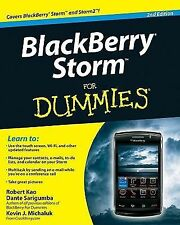 BlackBerry Storm for Dummies by Kevin J. Michaluk, Dante Sarigumba and Robert...