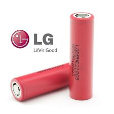 2 Genuine LG 18650 2500MAH High Drain 35Amp LI-ON Rechargeable Battery HE2 3.7V