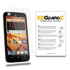 EZguardz Premium Real Tempered Glass Screen Protector Cover Shield For ZTE Speed
