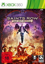 Saints Row: Gat out of Hell -- First Edition (Microsoft Xbox 360, 2015, DVD-box)
