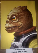 MONDO BOSSK 12X16 GICLEE LIMITED EDITION (MIKE MITCHELL) STAR WARS (OOP)
